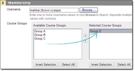 Limit availability by membership for groups in adaptive release