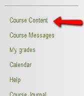 Course content area