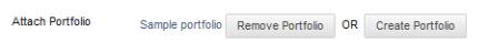 Remove Portfolio