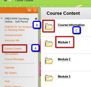 Course Content