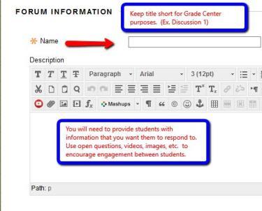 Forum information