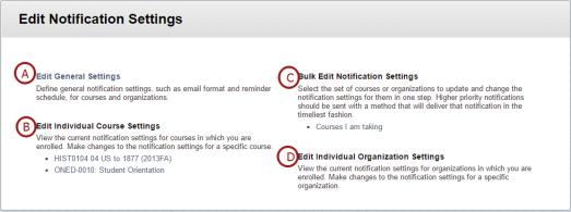 Edit Notification Settings Screenshot
