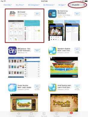 Bb Grader in App Store